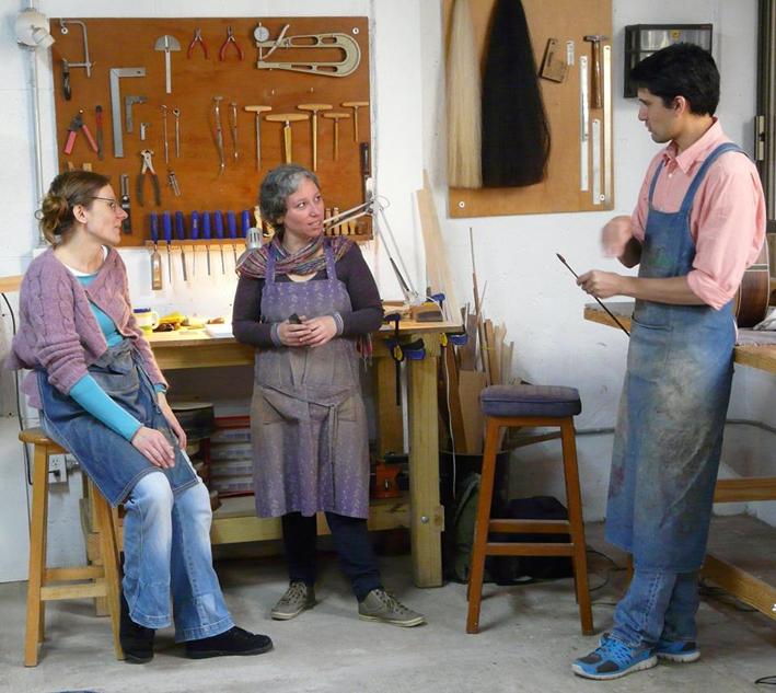 Paxche Atelier D.F México.Cours d'archeterie