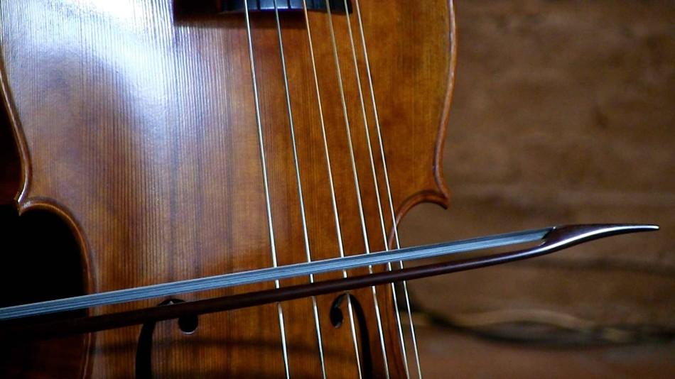 Modèle français L.Elizondo pour basse de viole.Viole Carlos Pineda.